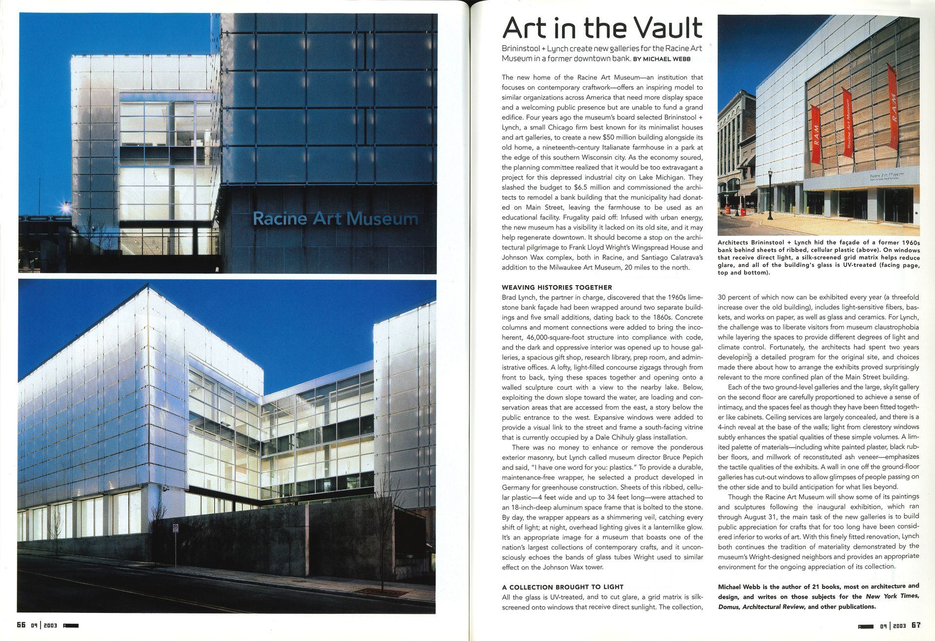 Architecture, September 2003