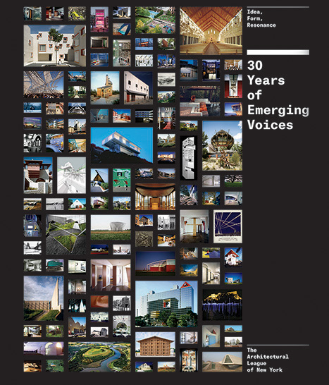 30 Years of Emerging Voices, Princeton Architectural Press, 2015.