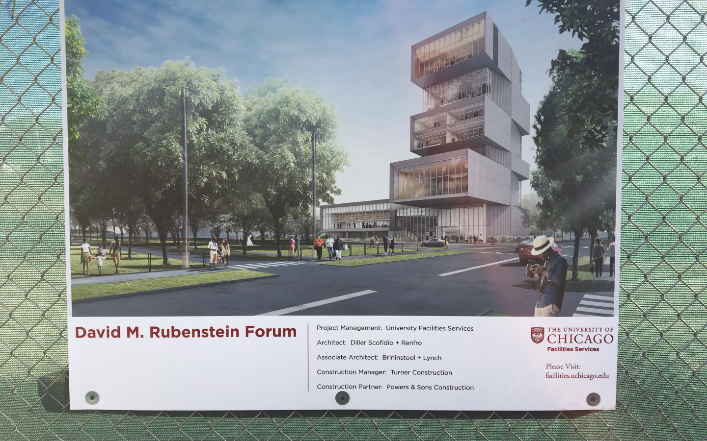 David M. Rubenstein Forum Construction Begins