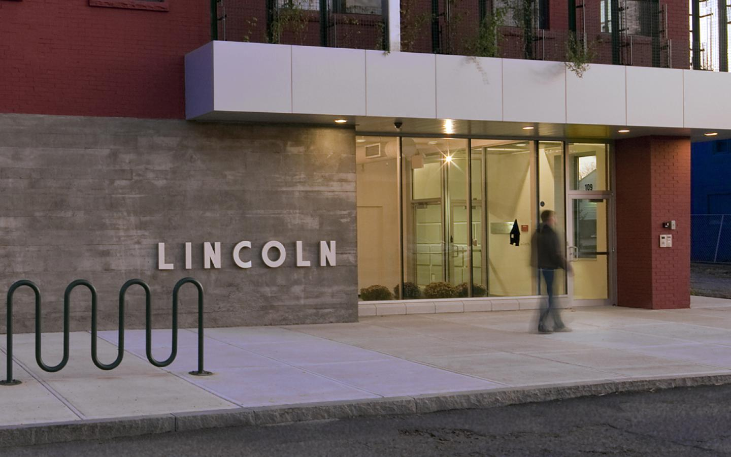 Lincoln Building: Entrance