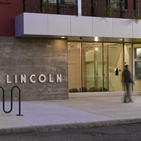 Lincoln Building: Entrance Close-Up