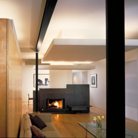H. Brody Residence: Fireplace