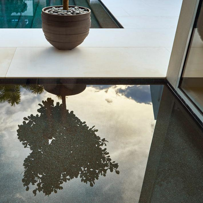 Podesta Residence: Water Reflection