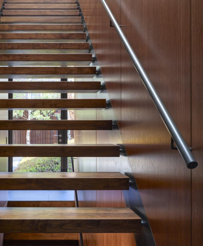 Wood House: Stairs