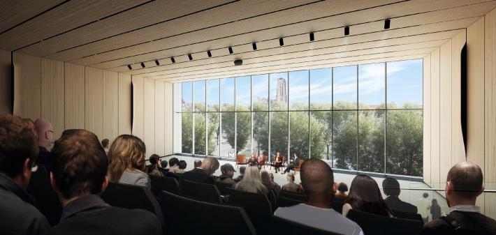 David M. Rubenstein Forum: Presentation Hall