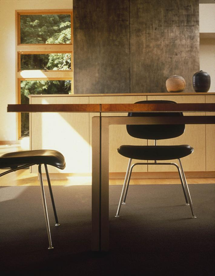 Yamamoto Residence: Table and Chairs