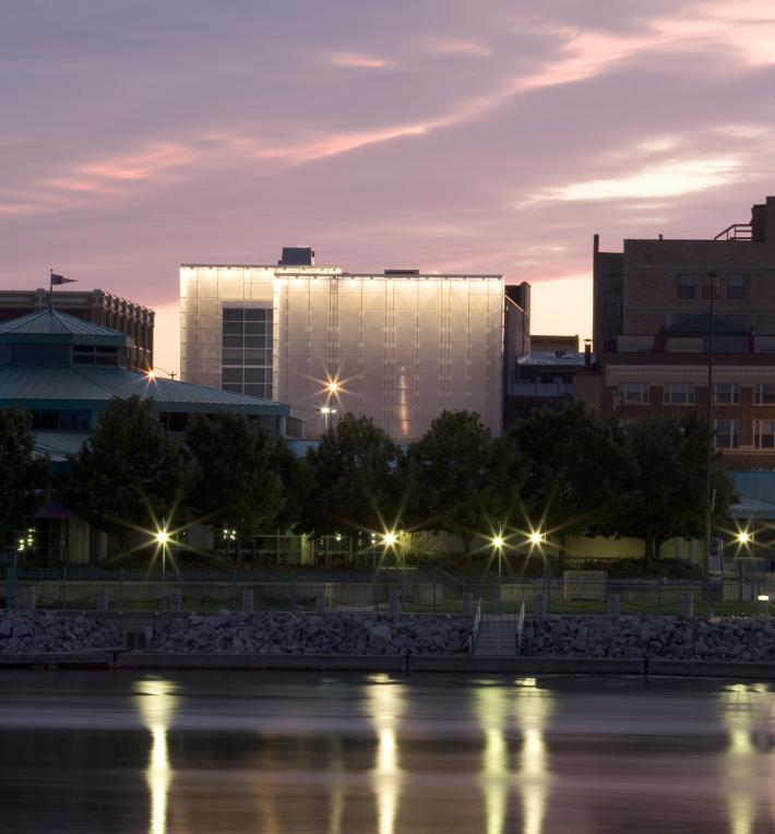 Racine Art Museum: View From The Water