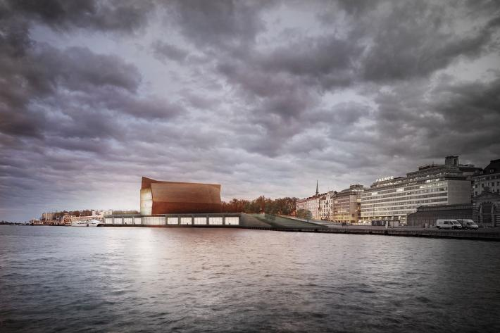 Guggenheim Helsinki: View From Water